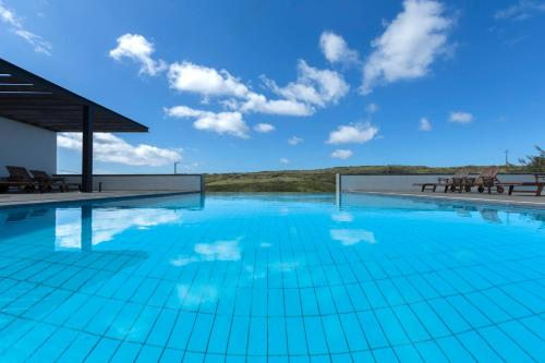 The swimming pool at or close to Azores Youth Hostels - Santa Maria