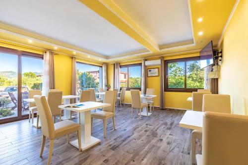 Een restaurant of ander eetgelegenheid bij Hotel Bonsai