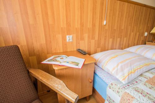 Łóżko lub łóżka w pokoju w obiekcie Willa Papierzówka