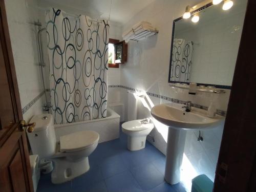 A bathroom at Villalen
