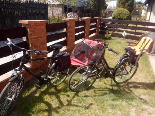 Cycling at or in the surroundings of Apartament w Centrum Charzykowy