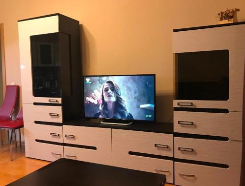 Телевизор и/или развлекательный центр в Apartment Gut