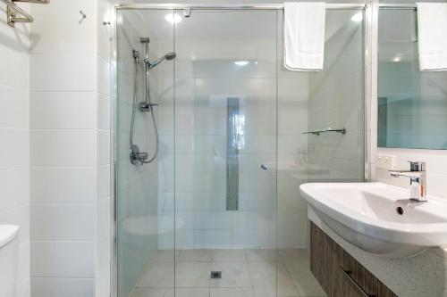 A bathroom at Azzura Greens Private Apartments