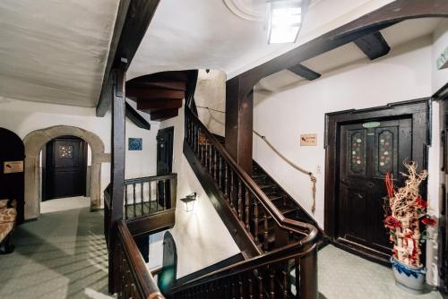 Lobby/Rezeption in der Unterkunft Löwen Hotel & Restaurant