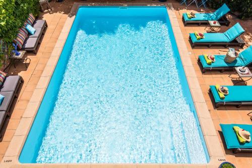 A view of the pool at La Beytina - B&B and Apartment or nearby