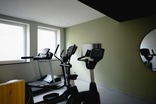 The fitness centre and/or fitness facilities at Melter Hotel & Apartments - a Neighborhood Hotel