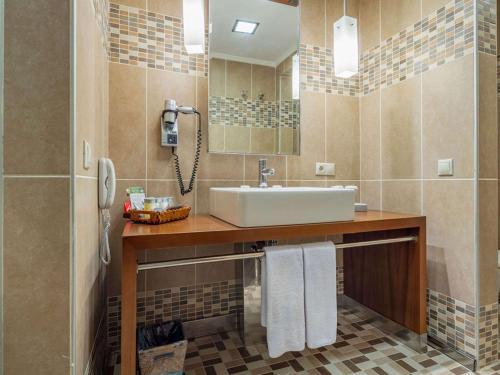 A bathroom at Rixos Sungate