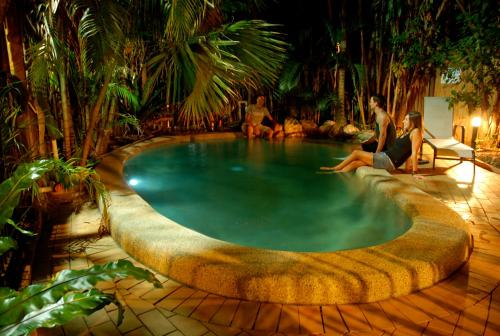 The swimming pool at or near Dreamtime Travellers Rest , Guest House