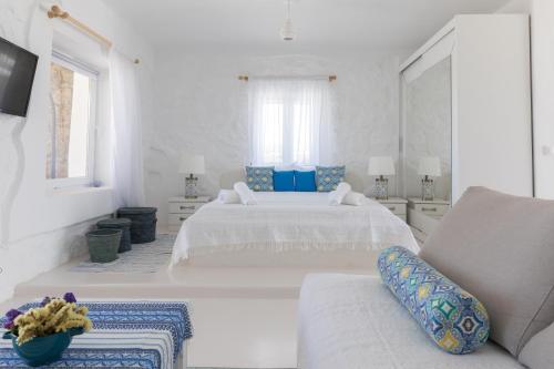 Letto o letti in una camera di Sugar Blue