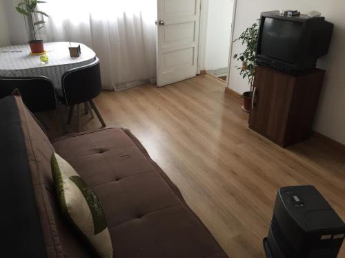 Zona de estar de Habitaciones Valparaiso