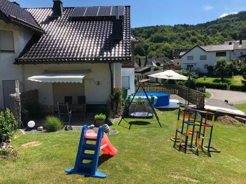 Children's play area at Gästehaus Lara