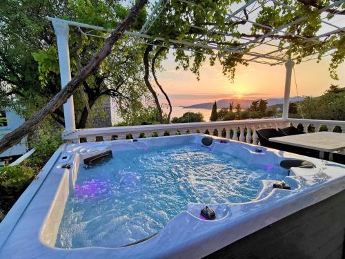The swimming pool at or close to Apartments Dalmatia Blue