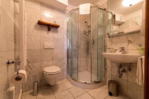 Ein Badezimmer in der Unterkunft Villetta Phasiana