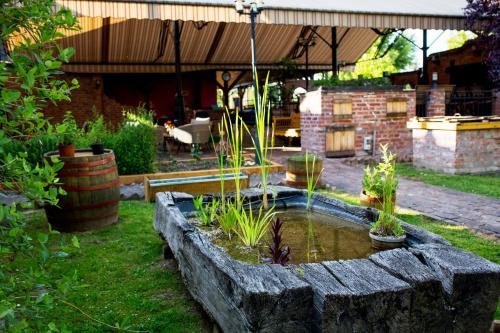 The swimming pool at or close to Hotel Vineyard Inn - Szőlőskert