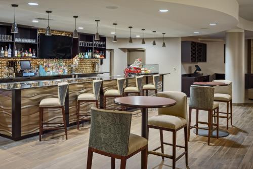 The lounge or bar area at Hotel Indigo San Antonio Riverwalk, an IHG Hotel