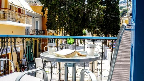 A balcony or terrace at Ritzi Apartment