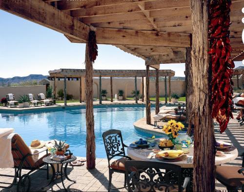 The swimming pool at or near Lajitas Golf Resort