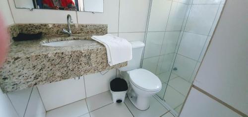 Um banheiro em Cristama Residence Inn