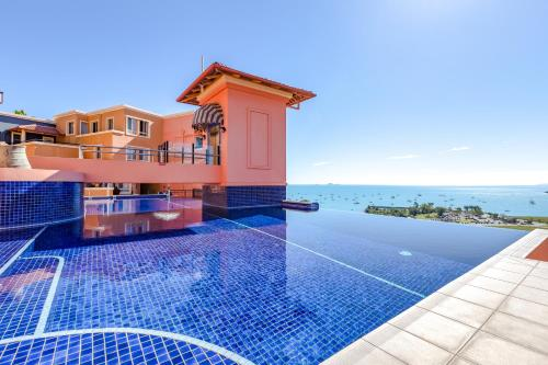 The swimming pool at or near Martinique Whitsunday Resort