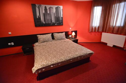 Posteľ alebo postele v izbe v ubytovaní Villa Diamond