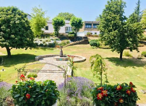 Jardín al aire libre en Guest House El Padrino