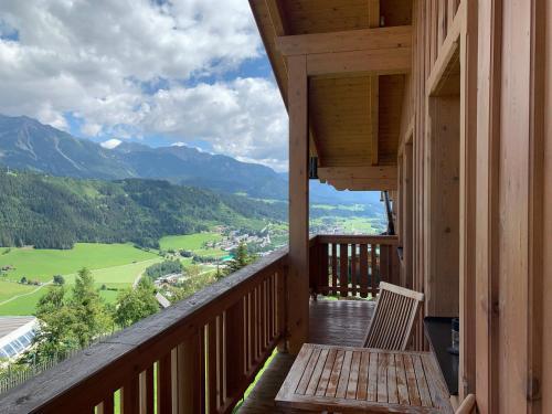 Balkón nebo terasa v ubytování La Montana