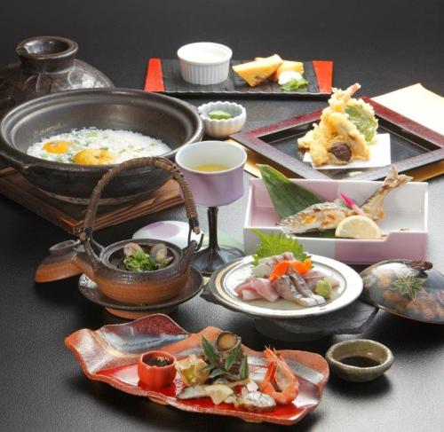 Lunch and/or dinner options for guests at Ten Ten Temari