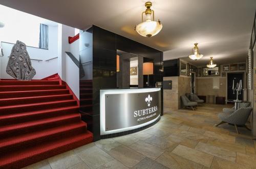 Vstupní hala nebo recepce v ubytování Active & Wellness Hotel Subterra
