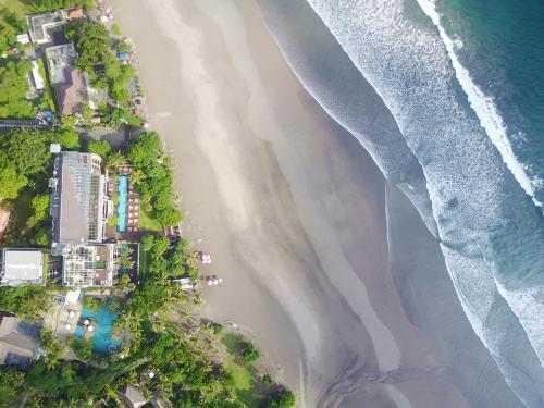 A bird's-eye view of Anantara Seminyak Bali Resort