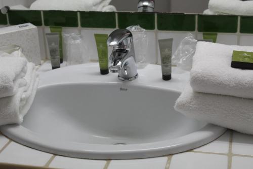 A bathroom at Thalacap Camargue