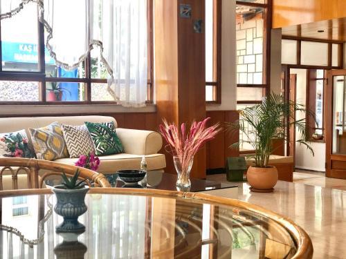Лобби или стойка регистрации в Kekova Hotel