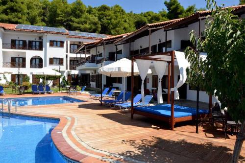 The swimming pool at or near Delphi Hotel