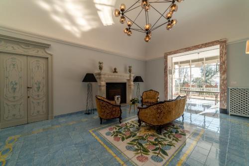 Hall o reception di Villa Ortensia D'Avalos