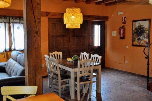 Zona de comedor en la casa o chalet