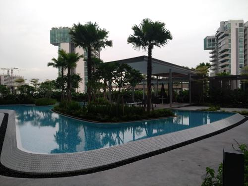 The swimming pool at or near Potong Pasir Residences