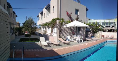 Πισίνα στο ή κοντά στο Nikolas Apartments