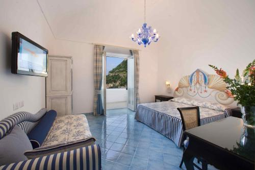 Area soggiorno di Palazzo Marzoli charme Resort
