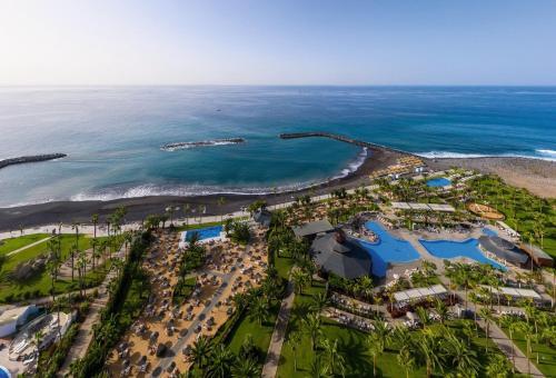 Vue panoramique sur l'établissement Hotel Riu Palace Tenerife