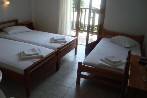 Ένα ή περισσότερα κρεβάτια σε δωμάτιο στο Σεβίλλη