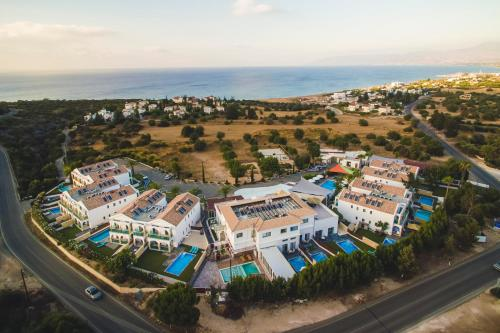 A bird's-eye view of Caprice Spa Kosher Resort