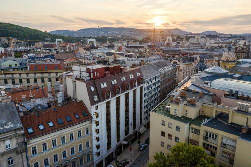 Danubius Hotel Erzsébet City Center a vista de pájaro