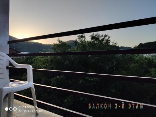 Балкон или терраса в U Valientiny Guest House