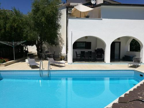 The swimming pool at or close to Ferienhaus Bozena Appartment 4
