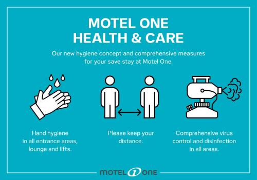 The floor plan of Motel One Newcastle