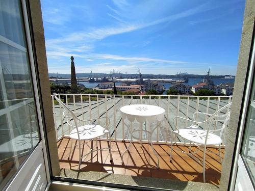 A balcony or terrace at Parador de Ferrol