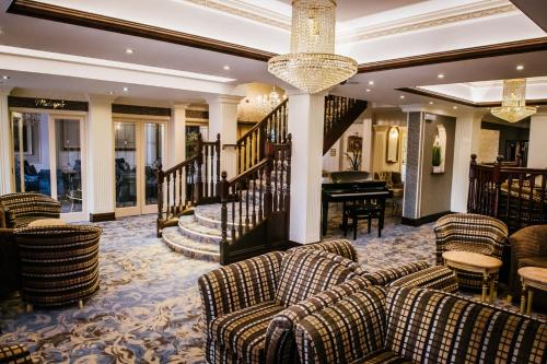 The lobby or reception area at Clifton Park Hotel - Exclusive to Adults