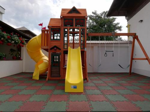 Zona de joacă pentru copii de la Hotel Buchenland