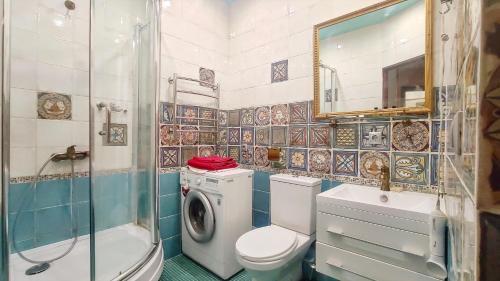 Ванная комната в Versal Apartment