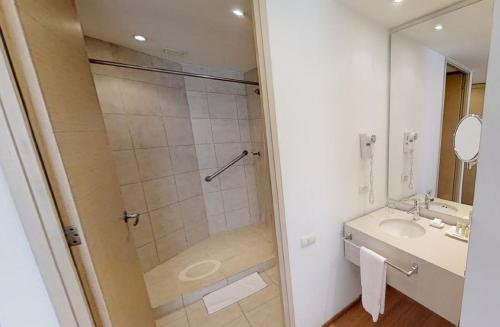 Ванная комната в Hotel Estelar Blue