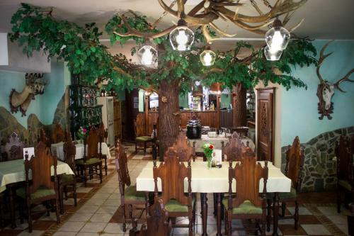 A restaurant or other place to eat at Hubert Varga